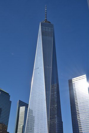 trades: One World Trade Center in Lower Manhattan Editorial