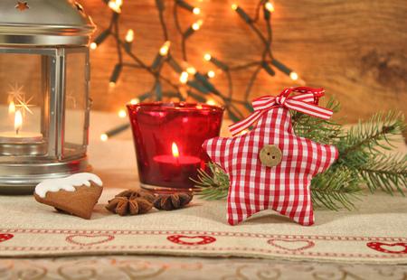 homelike: Christmas home cozy decoration background