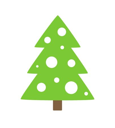 tree design: Christmas tree icon. Vector illustration