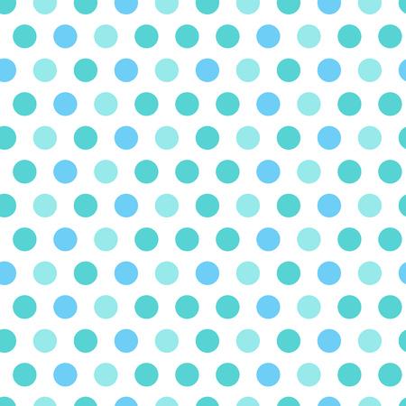 blue light background: Polka dot blue seamless pattern illustration Illustration
