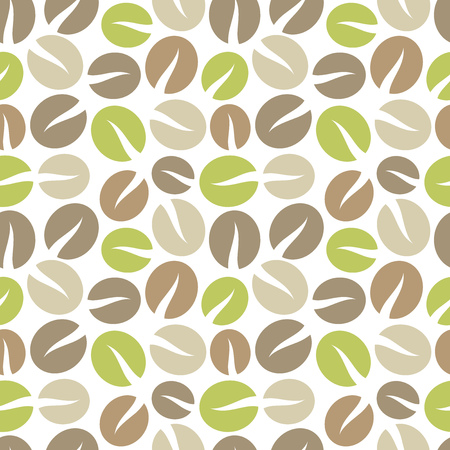 background coffee: Coffee beans background. illustration Illustration