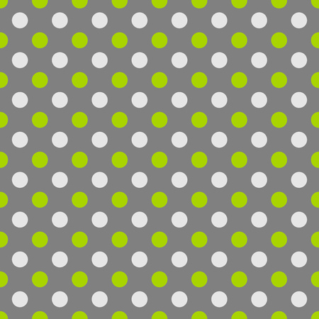 polka dot pattern: Green and grey polka dot pattern