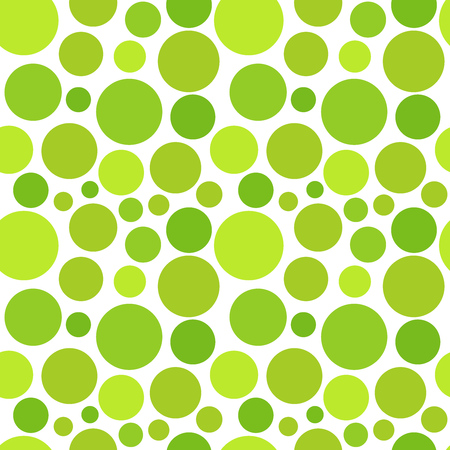 Green dot pattern. Vector illustration Reklamní fotografie - 56477193