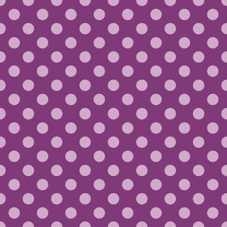 polka: Polka dot purple pattern. Vector illustration Illustration