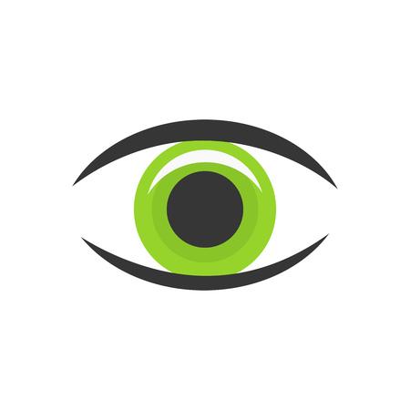 eye icon: Green eye icon.