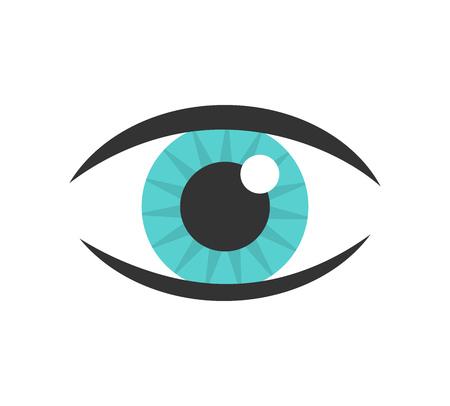 blue eye: Blue eye icon.