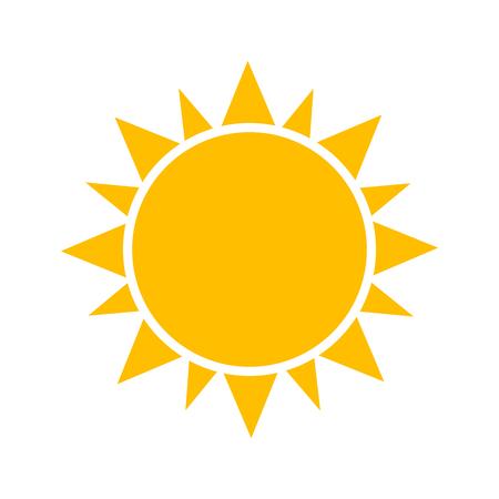 Icône de Sun. Banque d'images - 56783002