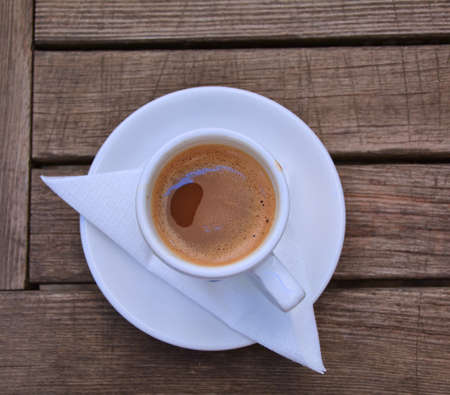 style: Greek style coffee cup