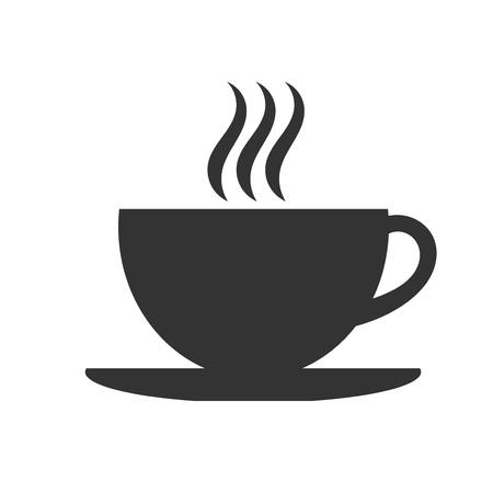 coffee icon: Coffee cup icon. Vector illustration