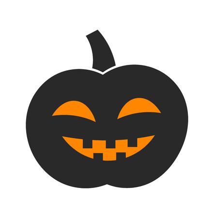 jack o' lantern: Jack o lantern Halloween pumpkin. Vector illustration