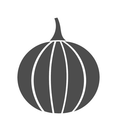 Pumpkin symbol icon.