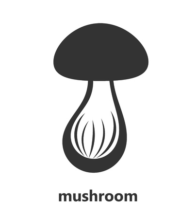 cep: Mushroom icon illustration Illustration