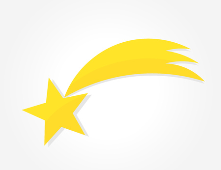 Christmas star of Bethlehem icon.Vector illustration Ilustração