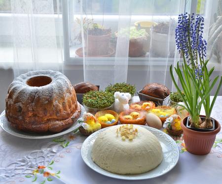 pascha: Traditional polish Easter cakes