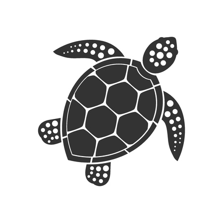 Sea turtle icon. Vector illustration Zdjęcie Seryjne - 83810303
