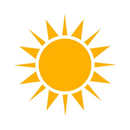 Simple sun icon.