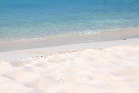 Paradise Caribbean beach on Aruba island.
