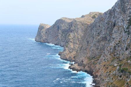 Cap de Formentor on Mallorca island, Spain. Banque d'images