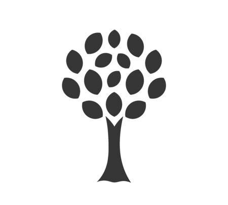 Tree icon symbol. Vector illustration.