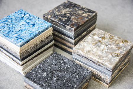 stone worktop: Kitchen counters samples made from natural stone