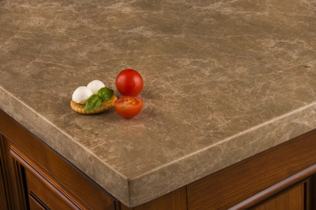 Luxery kitchen counter top Banco de Imagens