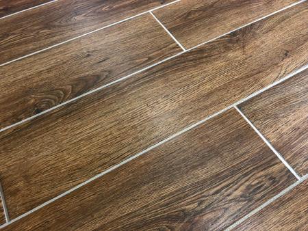 floor tiles installed in diagonal pattern