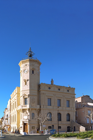The Ciotat Museum view from the dock Harbor area 新聞圖片