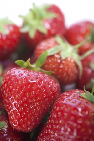 Fresh Strawberries on isolated background Stock Photo - 15572105
