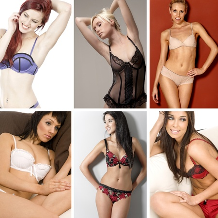 compilation: Compilation of attractive young woman in underwear