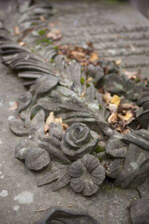 stone flower photo