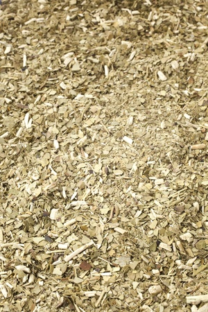 yerba mate: Primer plano de una yerba mate para un fondo