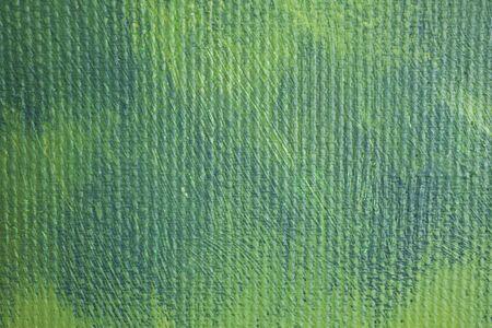 canvas painting closeup photo