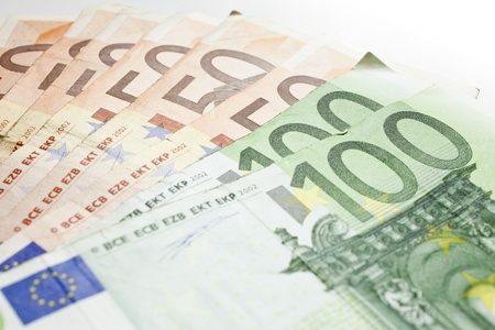 euro money background photo