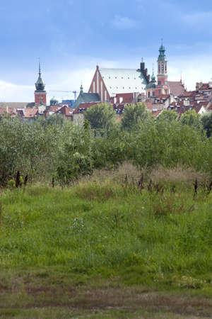 praga: Warsaw view from the Praga, Warsaw, 12 august 2012