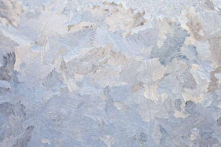 crystallization: frosty glass