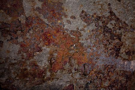 rusty background: rusty background