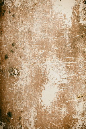 mangy: old rusty metal plate for background
