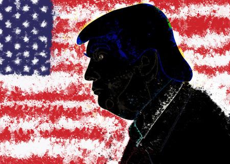 Donald Trump, president of USA Stok Fotoğraf - 72046877