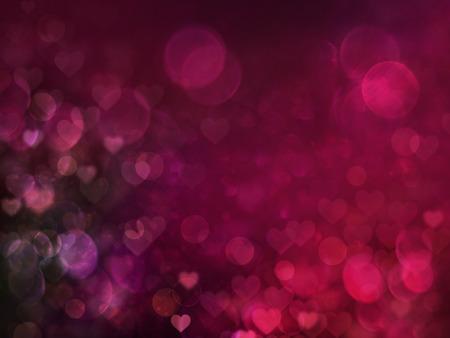 Valentine Hearts Abstract Red Background Foto de archivo - 94773756