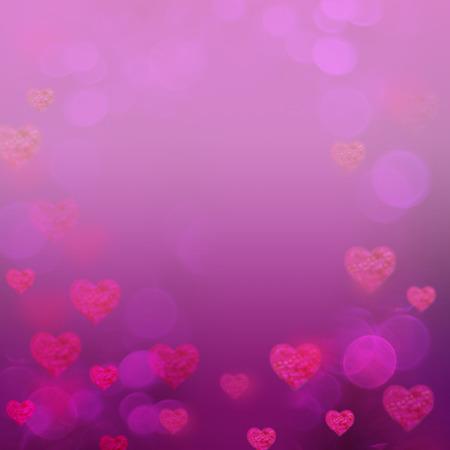 Valentine corazones resumen de antecedentes rosa Foto de archivo - 95052314