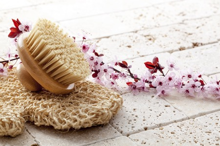 purity: Exfoliate for beauty and purity at the spa
