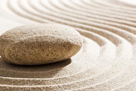 inner beauty: zen meditation for inner beauty Stock Photo