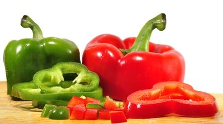agricultura: Pimientos