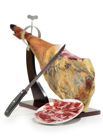 plato: Tapa de jamón