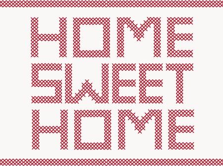 sweet home: Bordados en cruz puntada