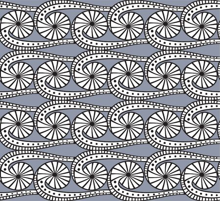 repeating background: Seamless grey pattern
