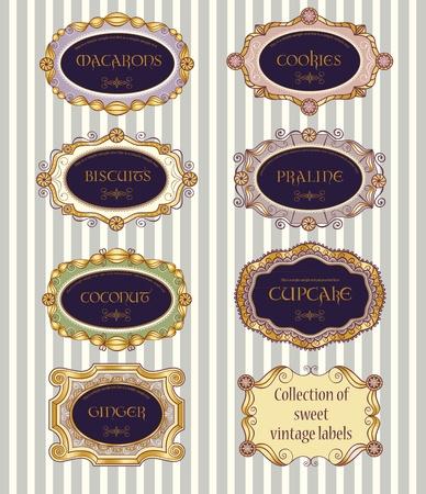 kiválasztás: Válogatás a vintage címkék