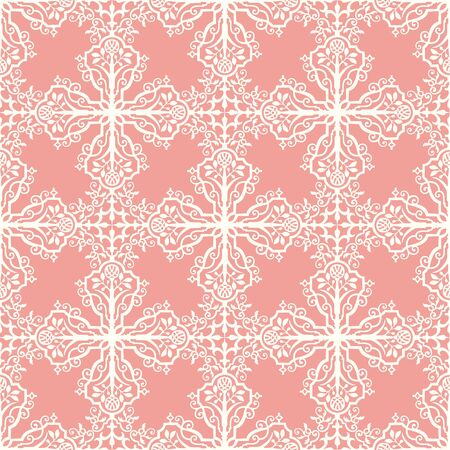 Seamless damask pattern indian inspiration Vector