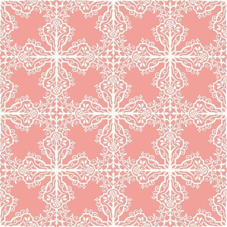 Seamless damask pattern indian inspiration Vector