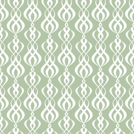 Seamless symmetric wallpaper pattern